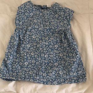 Gap floral dress 6-12 months
